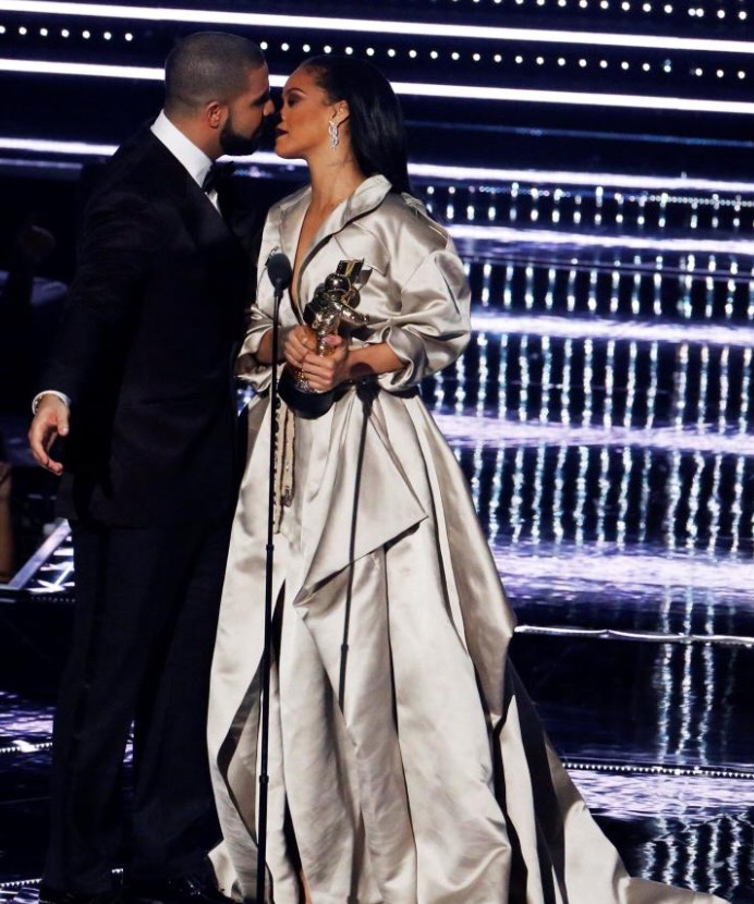 "But as word of their romance spreads across Hollywood there is one person who is not best pleased — Drake's ex RIHANNA. RiRi and Drake only recently ended the latest leg of their long, drawn-out love affair and the news that he has already moved on — let alone with one of her fellow stars — has not gone down well. A source revealed: ""Jen and Drake have tried to keep their romance under wraps by suggesting they are just working together, but the truth is they are an item."