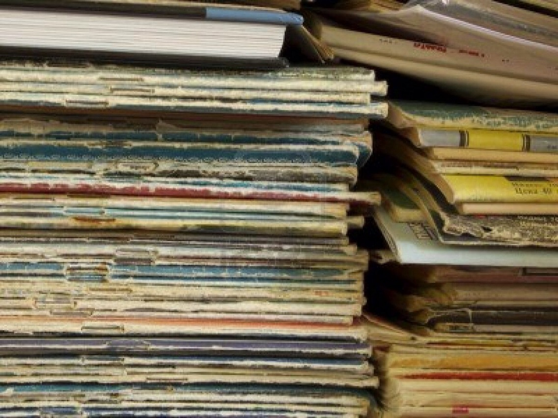 Old magazines. It's nice to keep a few around, but they add up. Old piles of dusty magazines waiting to be looked at. Will you ever look at them again? It was fun while it lasted, but it's over now.