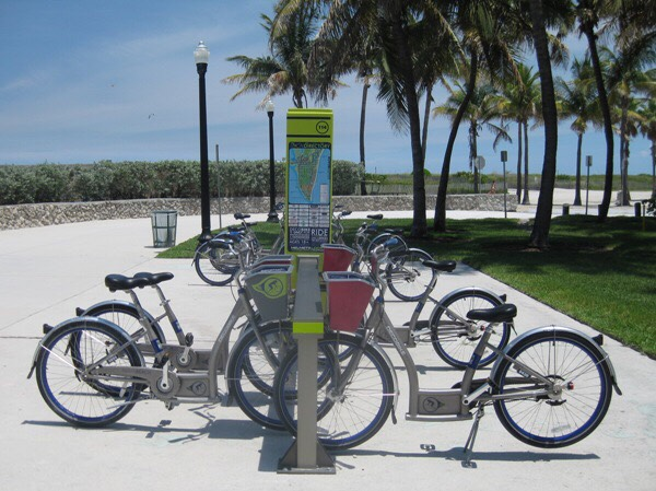 Decobike rental at miami beach and many other locations for only 6 dollars 1 hour 10 dollars 2 hours and 24 dollars 24 hours