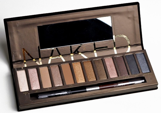 Natural eye shadow palette, for everyday use