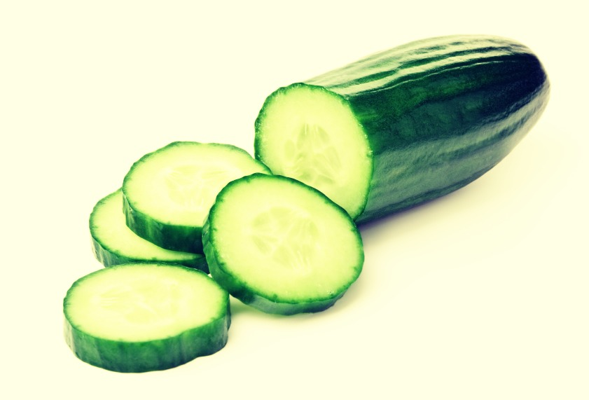Eat one whole cucumber before bedtime.