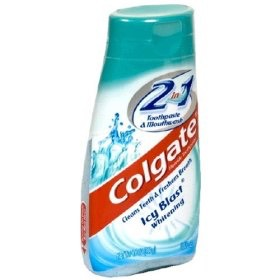 Toothpaste to use with the tooth brush.