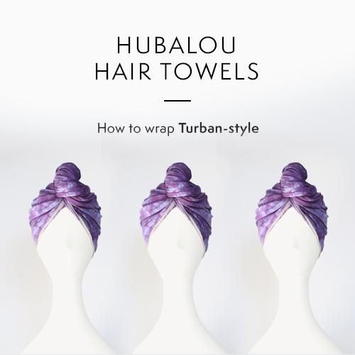 Learn how to use your Hubalou Wrap hair towel in our most popular way! This is a super simple way to use the ultra-versatile Hubalou Wrap.