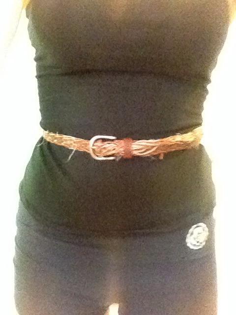 Place the belt around your waist