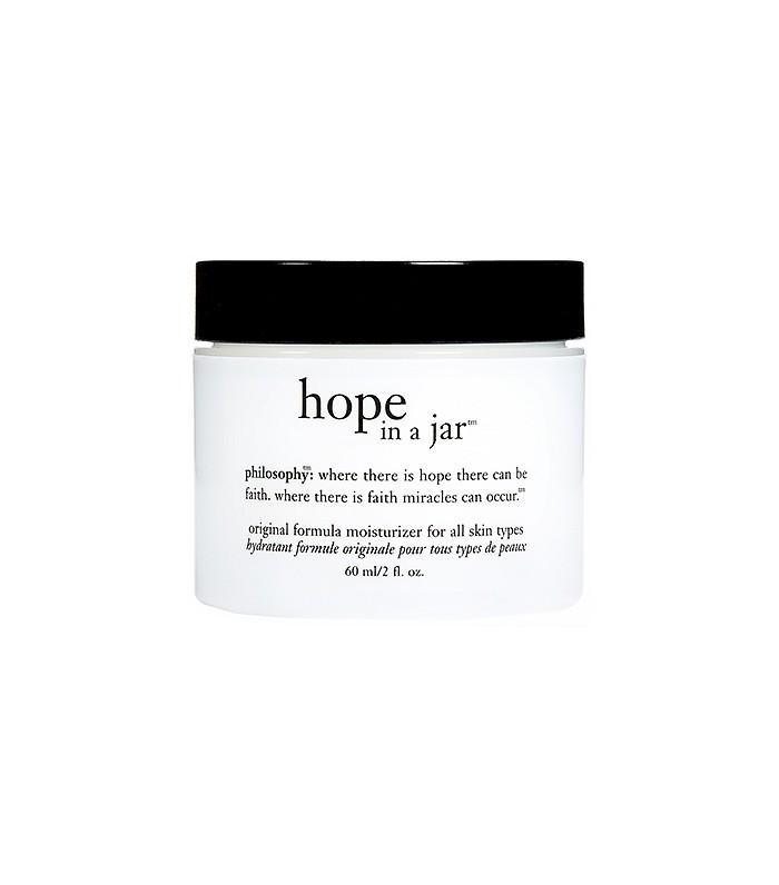 """The Rich Skin Saver  Hope in A Jar Original Formula ($15) The bottle reads, """" Where there is faith miracles can occur."""" Gift your own Christmas miracle this year with this luxurious moisturizer."""