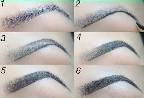 Here's a couple of tutorials for a slightly more dramatic brow..