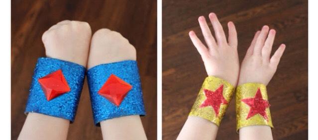 Superhero arm cuffs 🚀