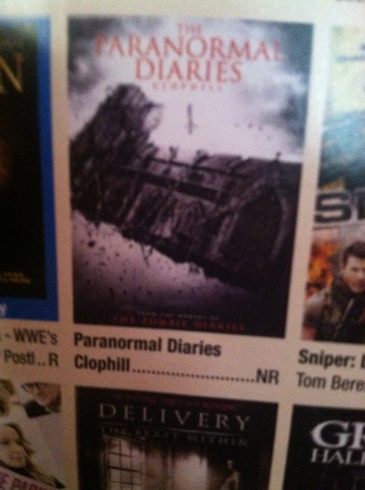 Paranormal diaries! So ready to see this I love the paranormal activities!