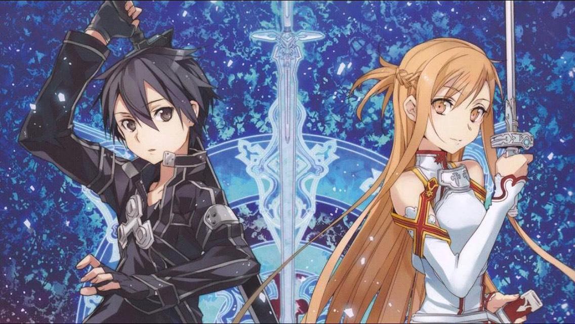Sword Art Online (Kirito and Asuna)