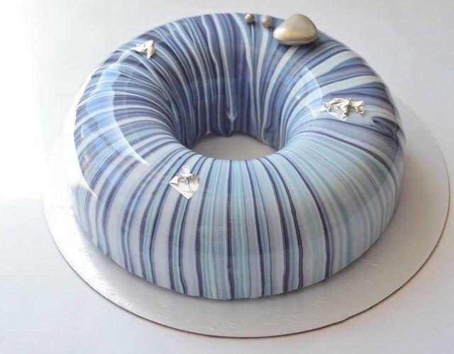 Mirror Glazed Cake Recipe By Marielle Ashe