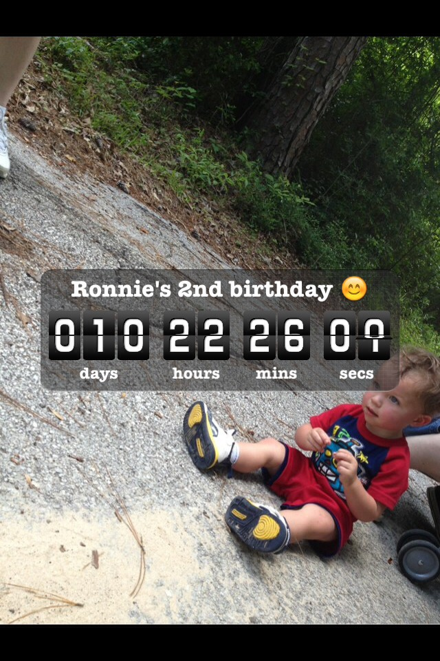 My baby is going to be 2 in 10 days it's a bitter sweet moment ☺️😔😫