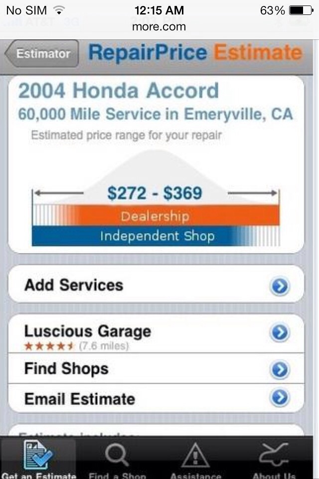 Car Repair Estimate App >> Free Car Repair Estimate By Stephanie Morales Musely