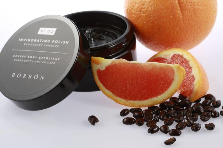Scrub away any flaws The key to flawless, smooth legs is exfoliation. Borbón's N° 02 Invigorating Polish is a luxurious coffee scrub that transforms the way your entire body looks. It uses enhanced purifying and soothing botanicals to extract any impurities that are clogging your pores. The brand's unique coffee blend polishes your entire body, leaving your skin smooth, silky, and glowing all over.