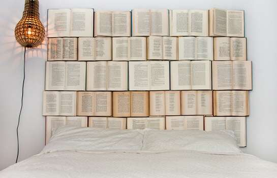 You could stack some books up together and then staple the books into the wall so they will stay.