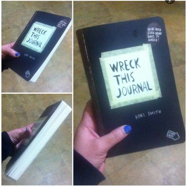 My journal before I wreck it. Brand new📓