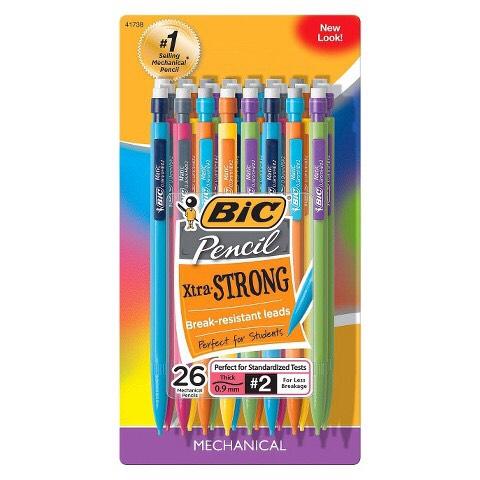 Always have extra pencils.