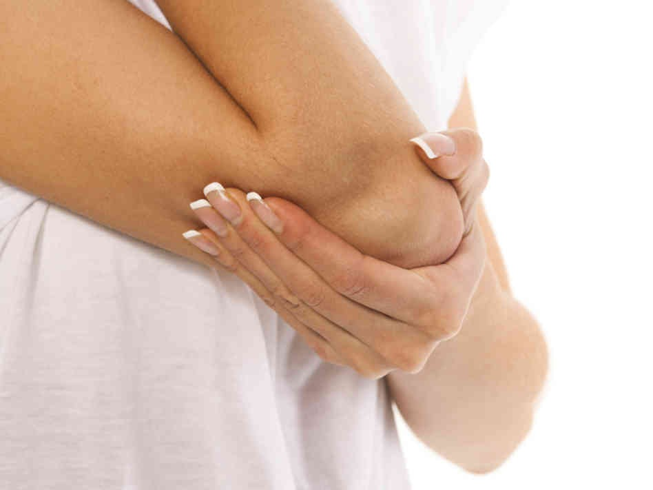 Elbows and knees: if they are looking rough put some coconut oil, olive oil or Vaseline on them before bed.