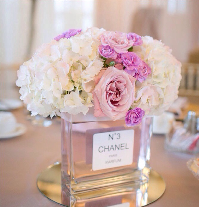Set alone or on top of a small mirror for pure elegance around the home or as a wedding centerpiece!