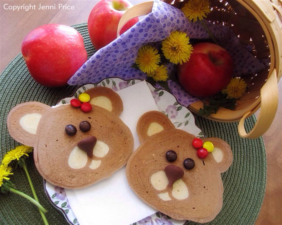 Ideas for food - teddy bear biscuits, cupcakes.  Even teddy bear shaped sandwiches.