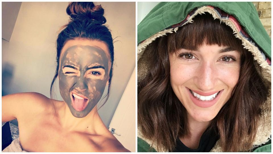 "Don't believe us? See for yourself! Rosie Jones, a model, says Alaska Glacial Mud is a must-have before photoshoots. In her words, ""I might look crazy, but it works wonders!"" See Rosie Jones' before & after Alaska Glacial Mud results"