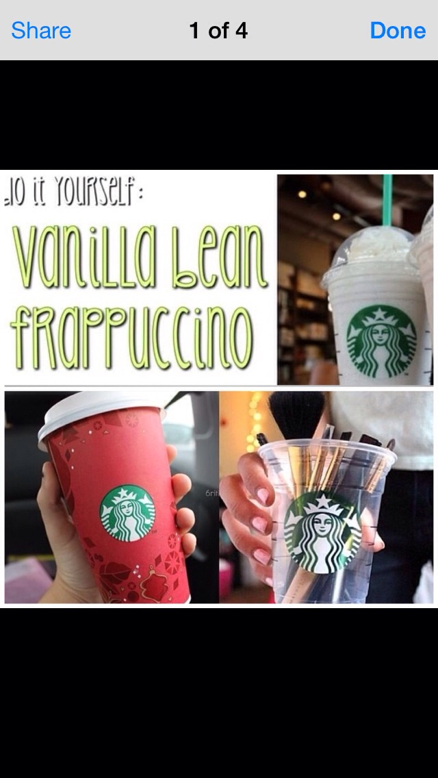 how to make a starbucks vanilla bean frappe