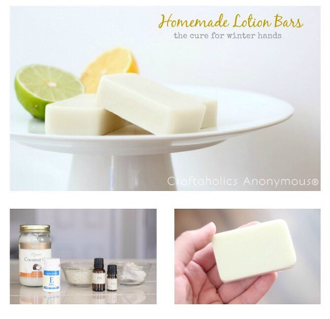 Making lotion bars is incredibly easy to do and only takes a few ingredients....overall save you a lots money!