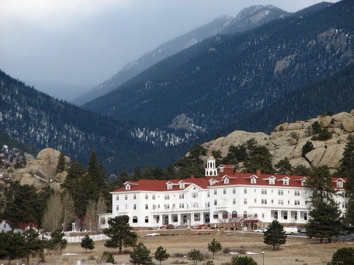 6.) The Stanley Hotel, Colorado  Rich in history, this hotel was also the original inspiration for Stephen King's, The Shining, which seems fitting since staff and guests often report hearing parties in the empty ballroom as well as someone playing the piano-- thought to be the former owner's wife