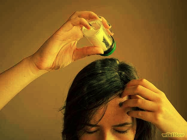 3. Apply dry shampoo the night before. If you know you're not going to have time to shower, much less wash your hair in the morning, apply your dry shampoo the night before. It will work itself in to your strands overnight, resulting in increased volume in the morning.
