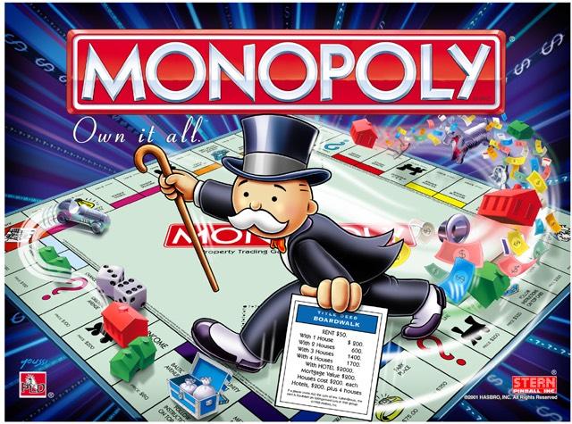 1.) monopoly is fun, long but fun.