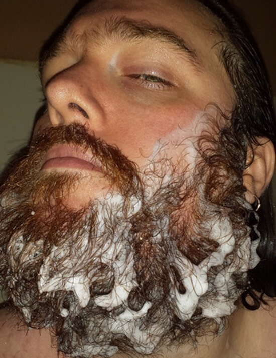 The beard needs conditioner too