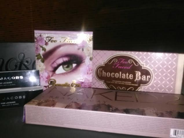 I love my TooFaced Chocolate Bar palette, and my Naked 2.  These are my faves!