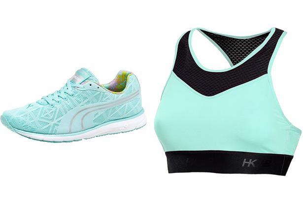 Puma Narita v2 Women's Running Shoes, $45.50 at Puma  New Balance HKNB Sports Bra, $32.95 at Sierra Trading Post