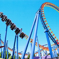 You have to go to Six Flags Over Georgia... It has so many cool attractions, which is better for the wild child within everyone!