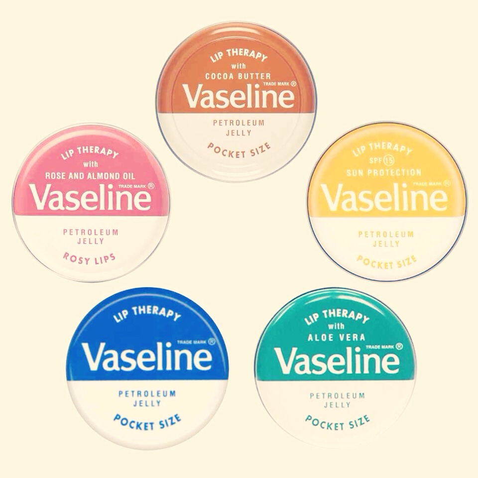 Then you're going to want to wash your lips and apply a thin layer of Vaseline. This will moisturise your lips. Complete the rest of your makeup whilst the Vaseline is soaking into your lips.