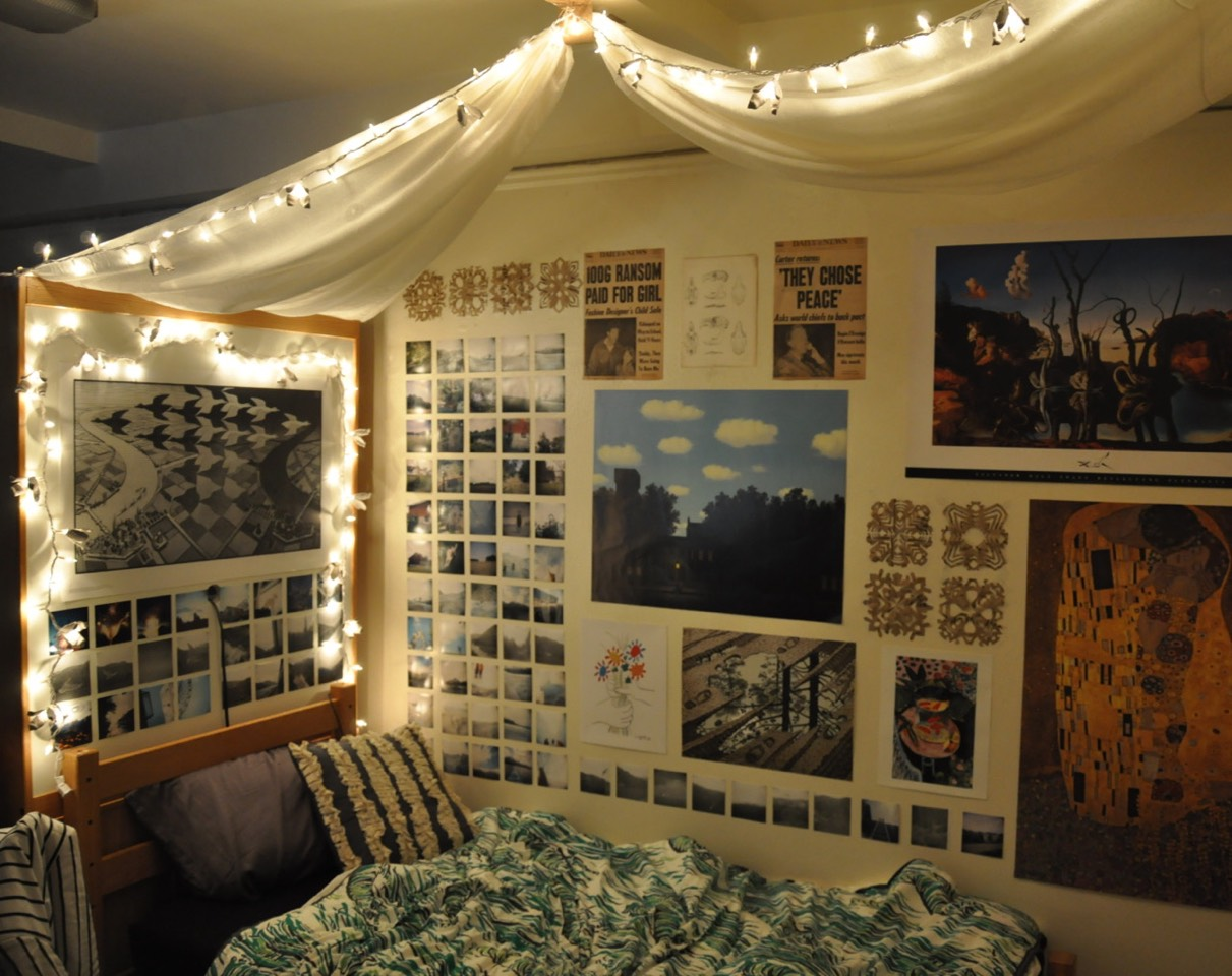 Tumblr rooms with lights - How To Properly Decor Your Room To Be Tumblr Worthy Tipit