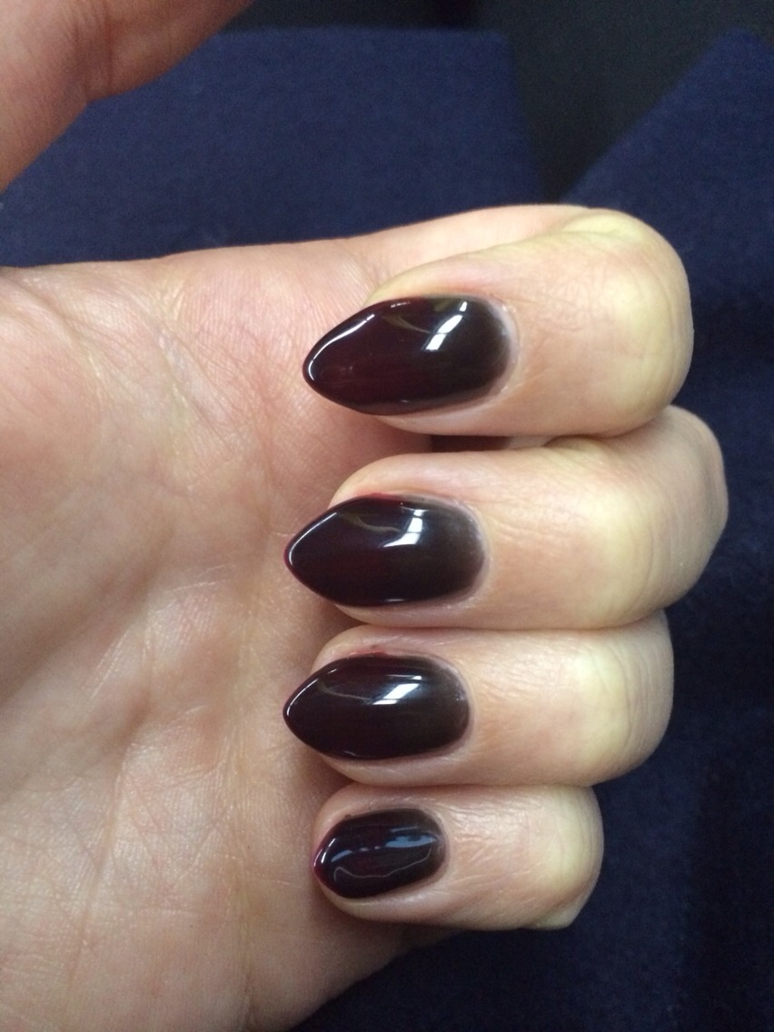 Orly Shade Shifter Gel Polish looks like this when you're feeling cold...