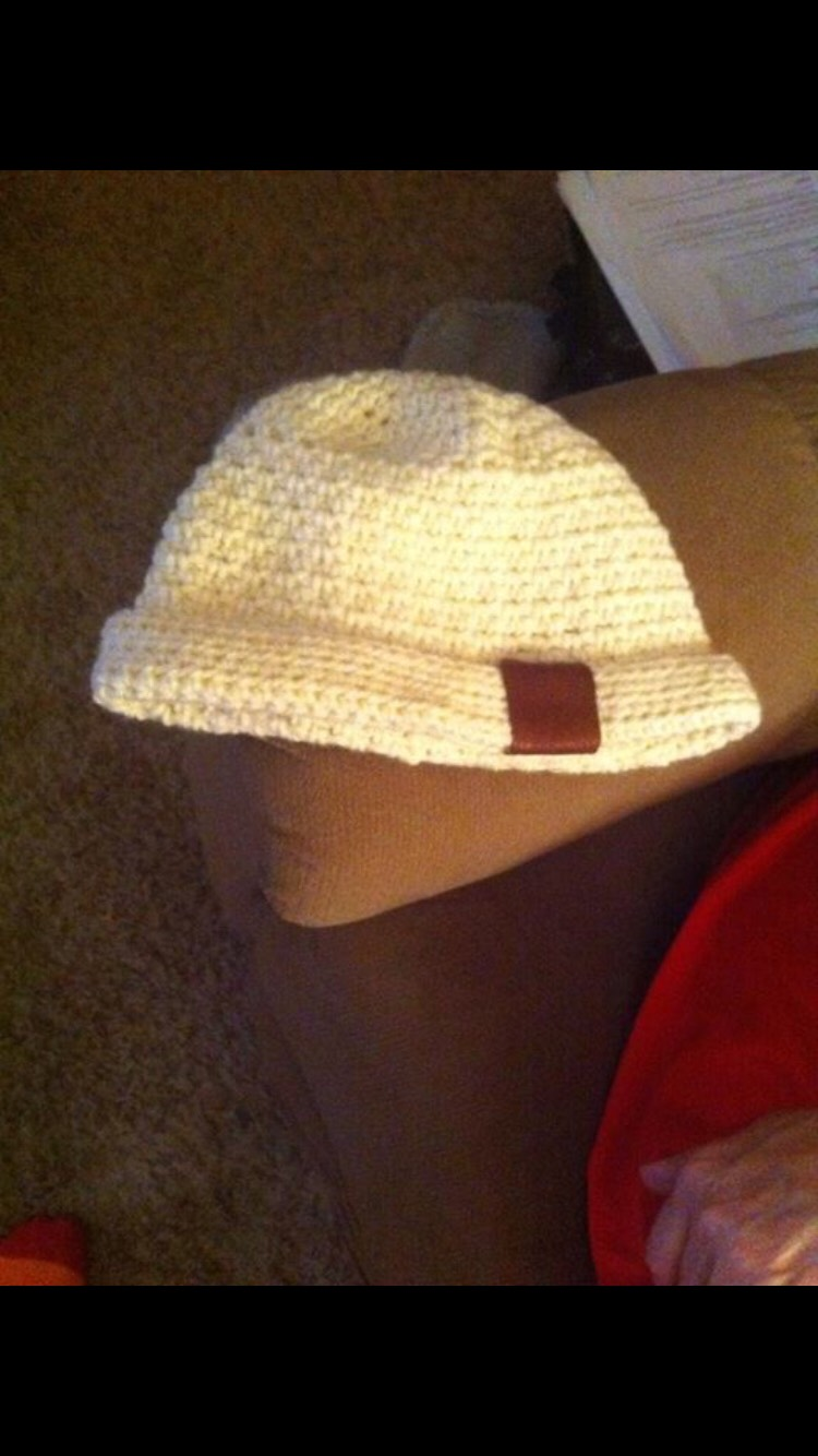 can make hats with leather strip.