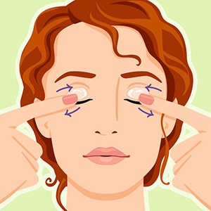 Apply Vaseline at night on your eye lids/ eyelashes, eyebrows and lips to keep moisturized. It will also help make eyelashes grow.