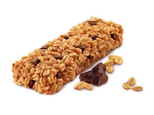 Small Snack - you never know when you'll get hungry  - sometimes you don't know where you can get food soon  - good ideas of snacks to keep in your bag are granola bars, pastry crisps, trail mix of other nuts...