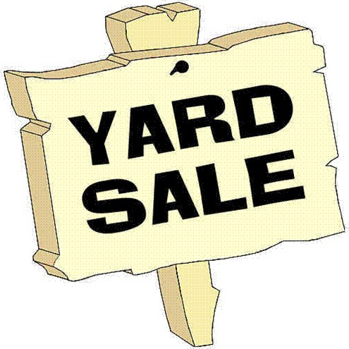 4.) Yard Sale sell some of your old clothes, books, games, shoes, etc. that you dont use anymore.