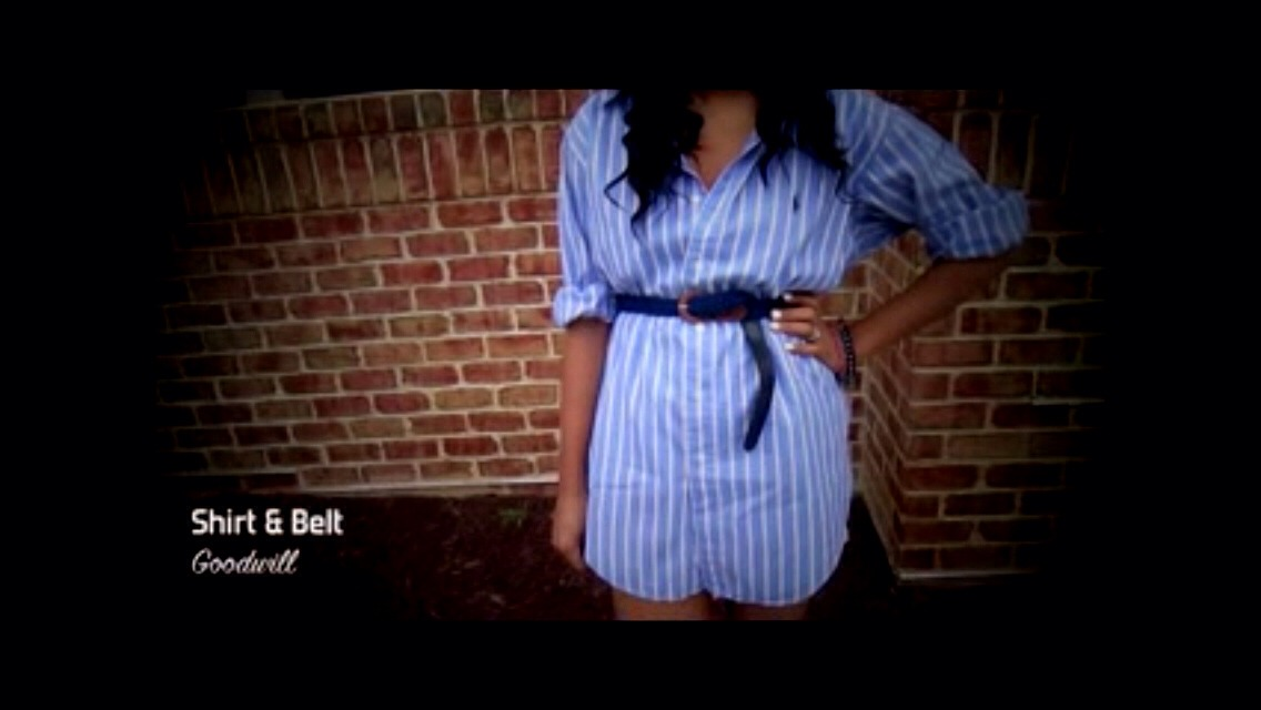 Add belt & voila !!!