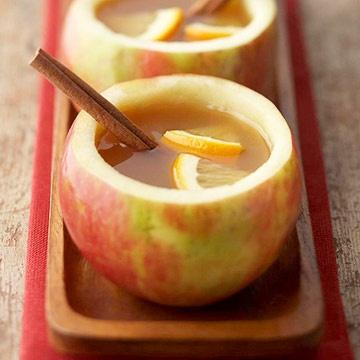 Hot cinnamon apple drink receipe