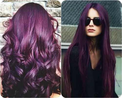 Gorgeously purple