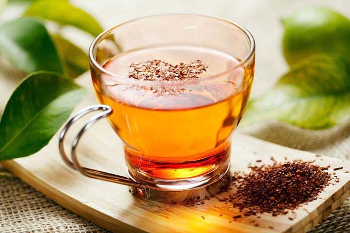 I drink tea every morning. It's amazing for your entire body and tastes amazing! Hot or cold, tea is my go-to drink all year round!