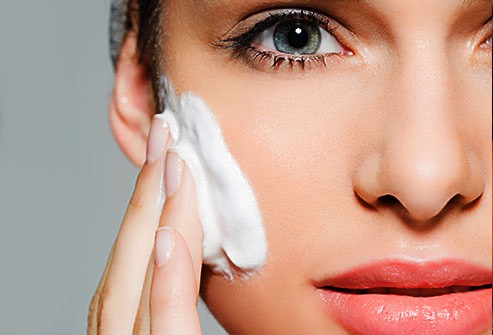 Moisturize your skin, if you are doing this during the day aim for a moisturizer with sunscreen.