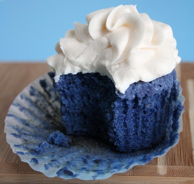 1. Blue Velvet Cupcakes