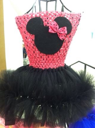 Minnie Mouse petti tutu dress