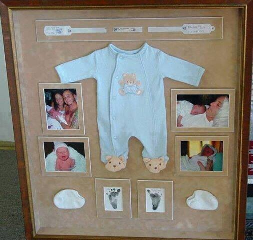 What a great idea.. Forever memories 💕.. Just get all your memories together and go to your fav craft store they will help you out finding the best frame they have great inventory.