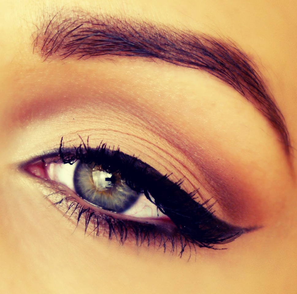 Cat eye is always stunning. Try making it thinner, thicker, or use different colors to mix it up. You can also try squaring off the liner.