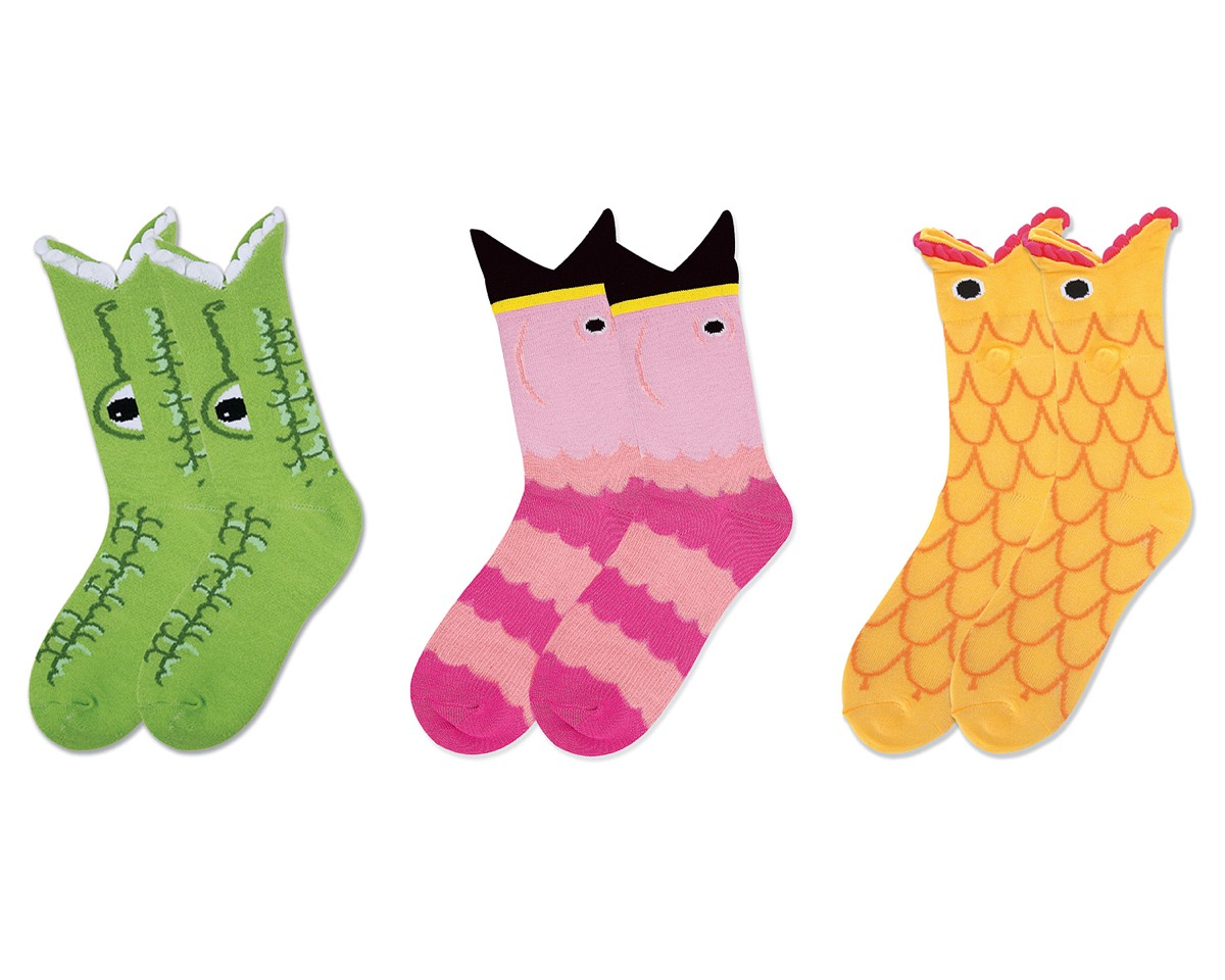 You just made you own socks!